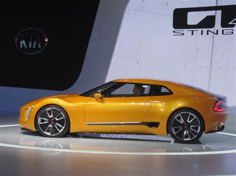 Kia Gt4 Stinger Concept Price Image Kia Gt4 Stinger Concept At 2014 Detroit Auto Show
