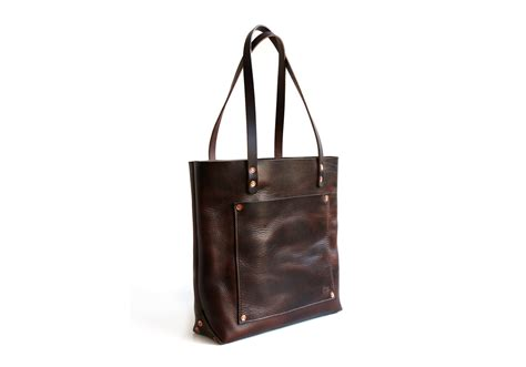 everything tote balsam mountain leather co