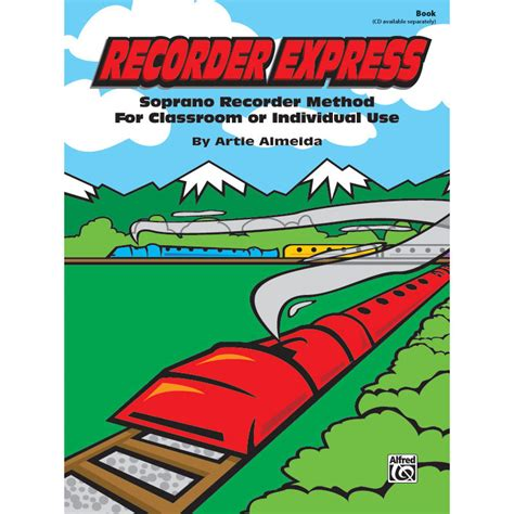 melodic stick books recorder express by artie almeida melodic reading book