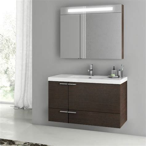 modern 39 inch bathroom vanity set with medicine cabinet