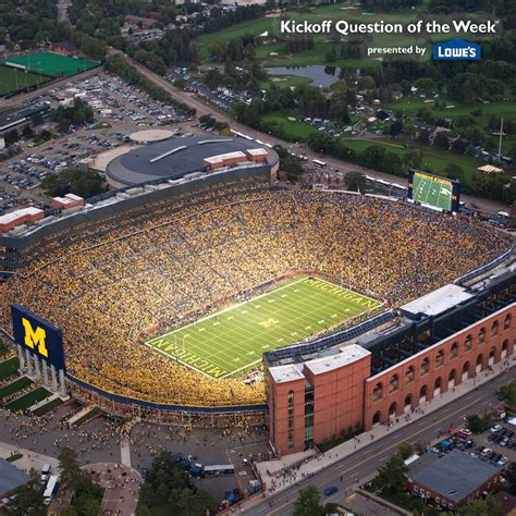 michigan big house the big house at night michigan wolverine football pinterest