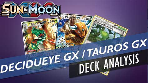 Tcg Sun Moon Decidueye Gx Jepang decidueye gx tauros gx deck profile tcg sun
