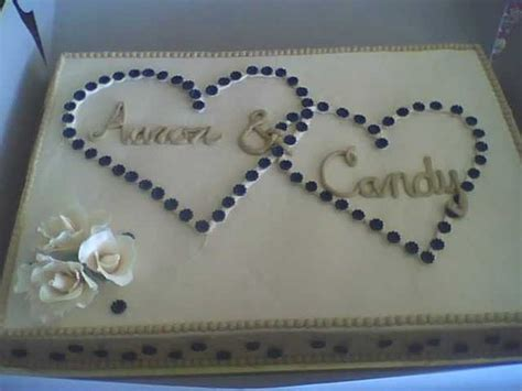 sheet cake designs for wedding shower blue ivory square wedding cakes photos pictures