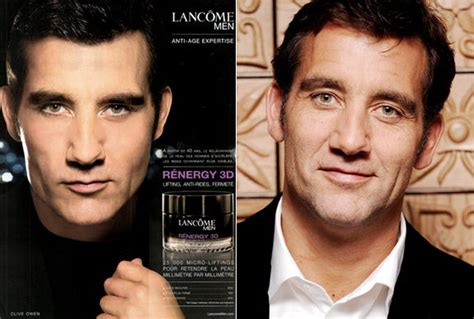 Clive Owen Becomes The New For Lancome by Becoming Media Literate Rosie Molinary