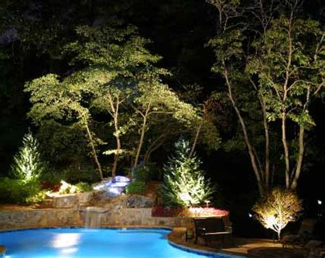 low voltage lighting near swimming pool outdoor lighting residential commercial light fixtures
