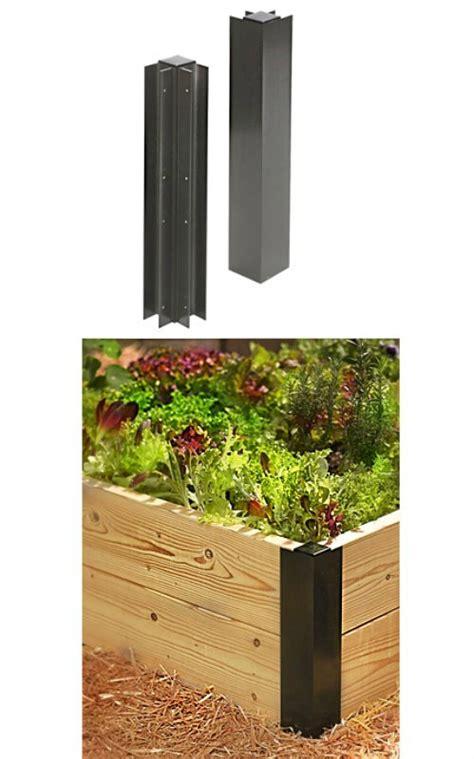 Gardeners Supply Raised Bed Corners Buy The Gardener S Supply Igh 220034 Garden Raised Bed