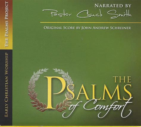 Psalms Of Comfort In by The Psalms Of Comfort Cd 2009 Narrated By Pastor Chuck