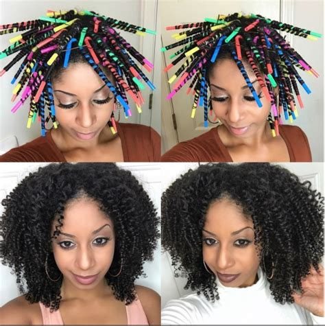 short straw set hairstyles a different twist using straws to set your hair voice