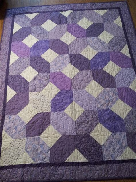 purple hugs and s quilt