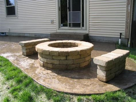 pit on pavers 12 pit designs for your backyard its personality