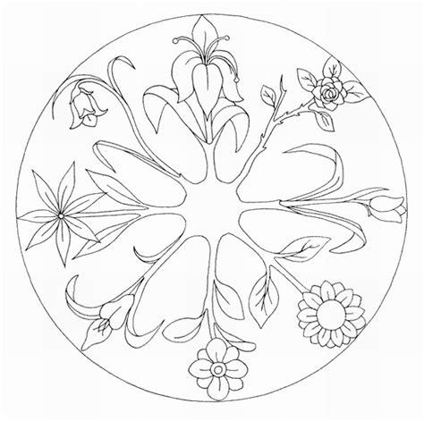 imagenes de mandalas florales mandalas para colorear mandalas de flores