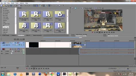 sony vegas pro transition tutorial sony vegas transitions tutorial youtube