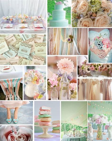 colour themes pastel the diamond ring color themes for your wedding