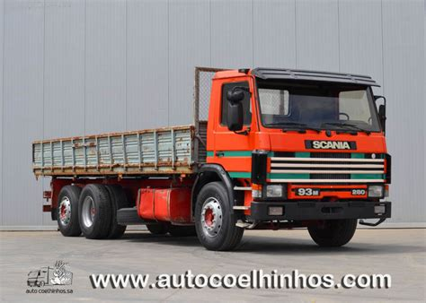 scania 93m 280 tipper from portugal for sale at truck1 id