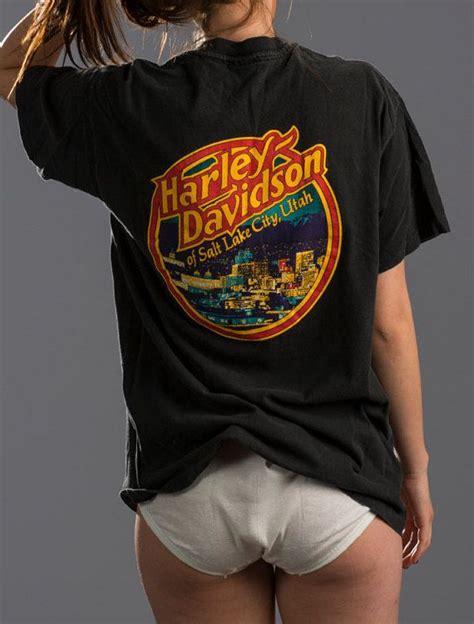 Tshirt Sale Lake City vintage harley davidson flames salt lake by