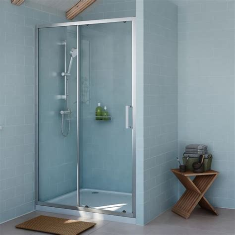 Shower Door Fixings Shower Enclosures Doors Shower Cubicles Trays Diy At B Q