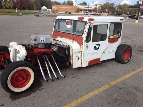 mail jeep custom rat rod postal jeep rat rods rats jeeps