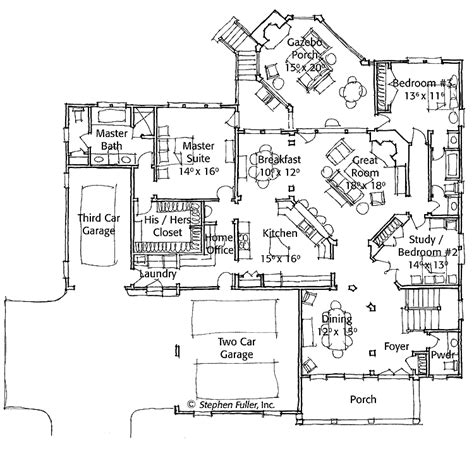 modern floor plans for homes modern single story house plans modern single story house