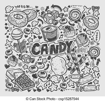 doodle line drawings eps vector of doodle elements csp15287544 search