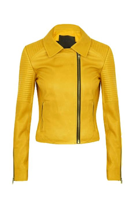 yellow motorcycle jacket lagum yellow motorcycle jacket leather4sure biker