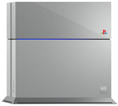 Ps4 20th Anniversary sony reveals limited edition playstation 4 20th anniversary edition gaming age