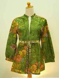 Batik Fashion Wanita Fs model baru baju batik wanita bagian atas
