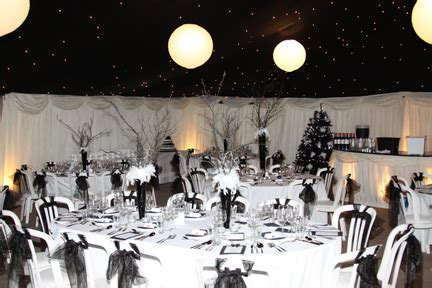 white themed events themed parties decadent black and white birthday ball