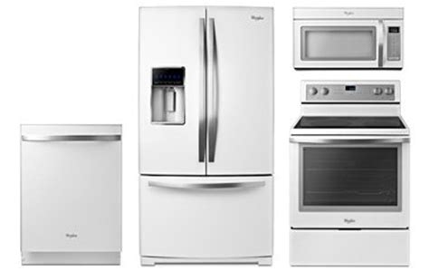 white ice kitchen appliances whirlpool gold white ice appliance package with electric