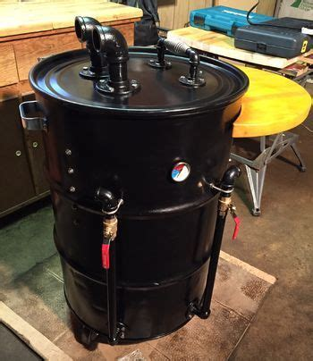 building testing my pit barrel smoker in 2018 diy pit barrel smoker barrel my uds build with photos in 2018 building uds smoker and drum
