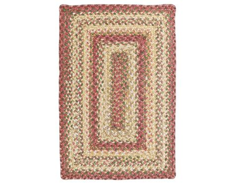 Homespice Decor Ultra Durable Braided Rectangular Red Area Rectangular Braided Area Rugs