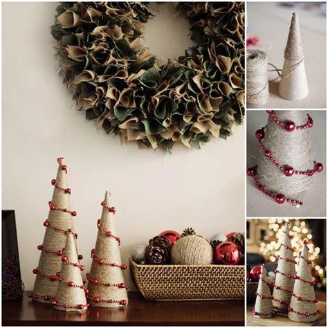 creative ideas diy mini tree creative ideas diy twine and bead trees