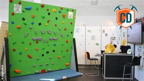 is this the future of home climbing walls epictv