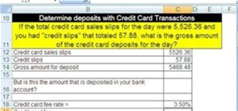 how to make credit card calculations with microsoft excel 171 microsoft office