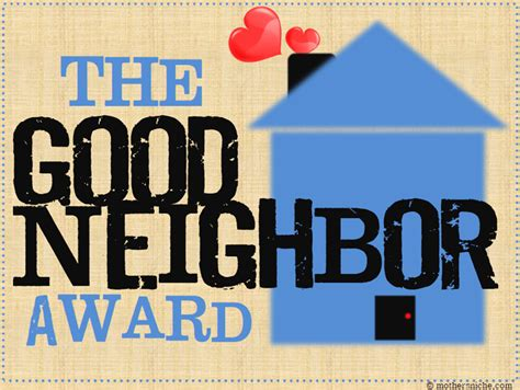 7 Ways To Make Friends With The Neighbors by The Award Printable