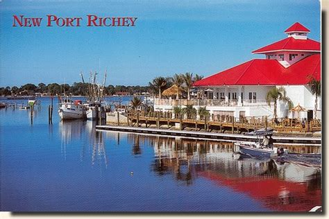 New Port Richey Post Office by A Postcard From New Port Richey Florida Usa 2011 06 01