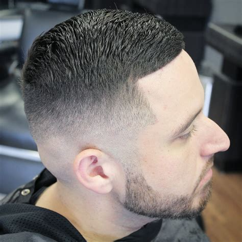 skin fade comb over hairstyle skin fade into comb over yelp