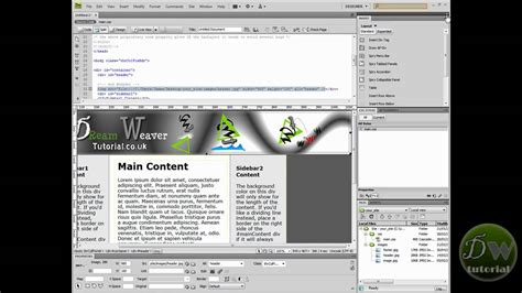 does dreamweaver templates dreamweaver template tutorial part 3 create template and