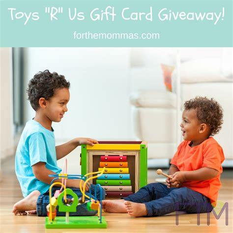Toys R Us Gift Card Giveaway - 100 toys quot r quot us gift card giveaway playwithpurpose support children in need ftm