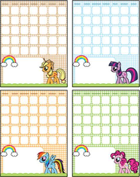 Where Is My Calendar Calendars My Pony Calendars Free Printable