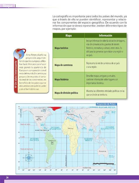 Cadro De Geografia Pag 24 6 2016 Contestado | 191 para qu 233 me sirven los mapas bloque i lecci 243 n 3