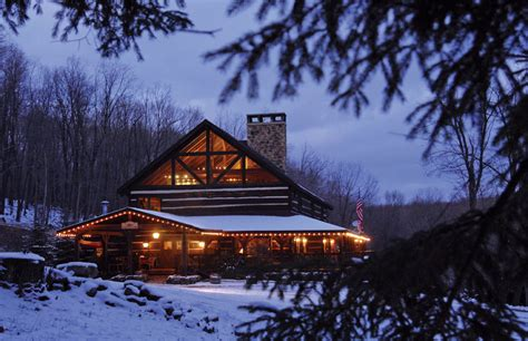 Cabin Getaways In Md by Savage River Lodge Luxury Cabins And Yurts In Western