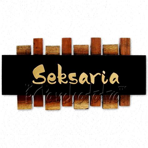 Decorative Name Plates For Home by Buy Decorative Designer Home Nameplate In India