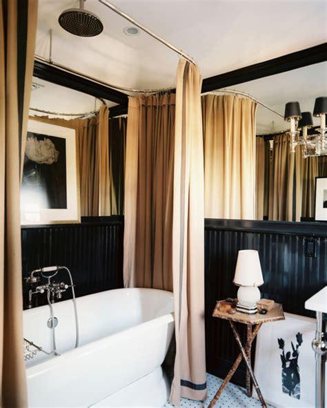 shower curtain freestanding bath bath tub photos 22 of 360 lonny