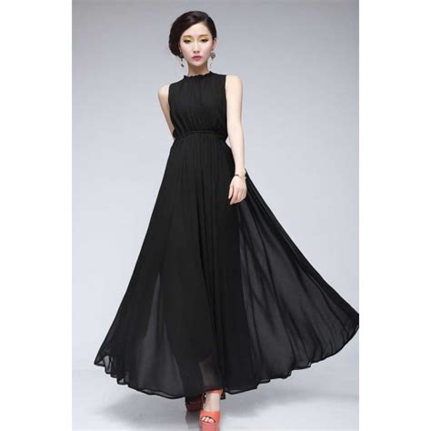 Longdres Tanpa Lengan Ungu dress chiffon tanpa lengan d2030 moro fashion