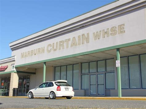 marburn curtain stores curtains still closed in vacant marburn warehouse empty