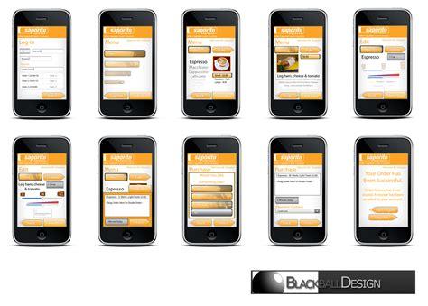 app design mockup free blackball design iphone app mockups