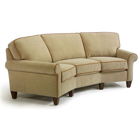 flexsteel conversation sofa flexsteel 3979 323 westside conversation sofa discount