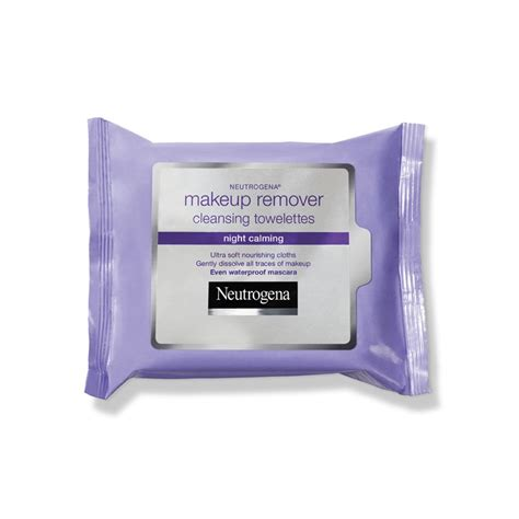 Neutrogena Makeup Remover makeup remover cleansing towelettes calming