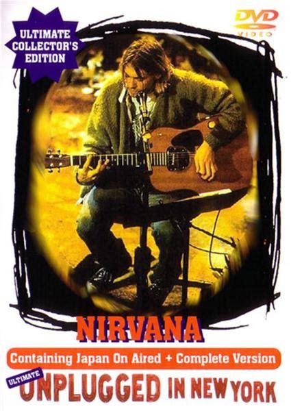 Nirvana 1cd 1989 nirvana ultimate unplugged in new york 1dvdr giginjapan
