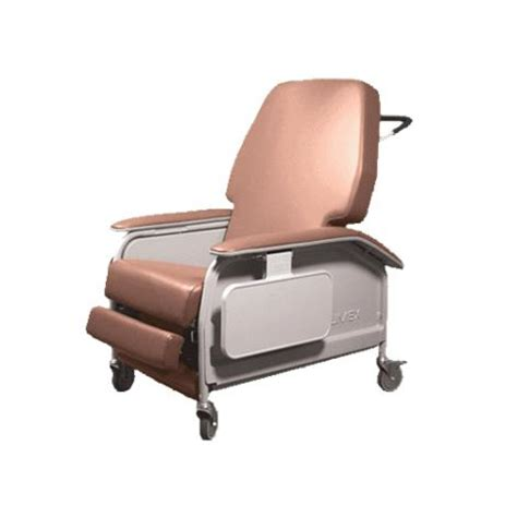 graham field lumex wide clinical care recliner chair